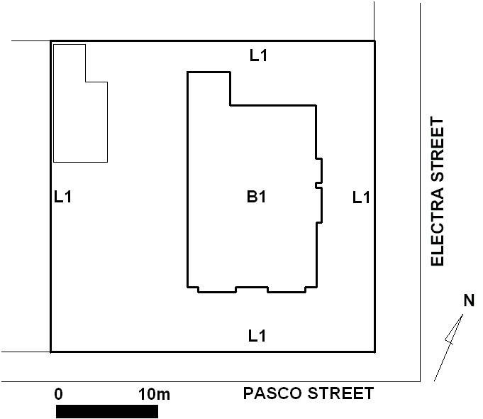 H1857 tudor house 52 pasco street williamstown plan