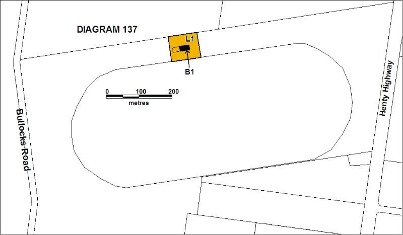 H0137 Hamilton racecourse grandstand plan