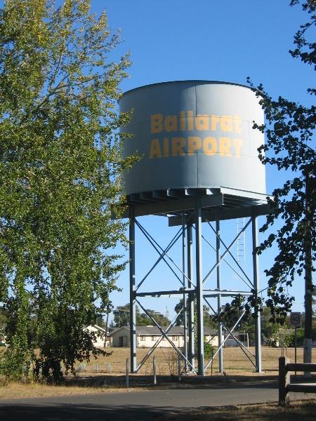 14247 Former Ballarat RAAF Base water tower