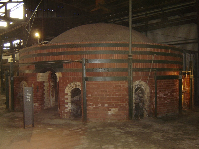 Bendigo Pottery Circular Kiln (S5) 16 August 2005 mz 044