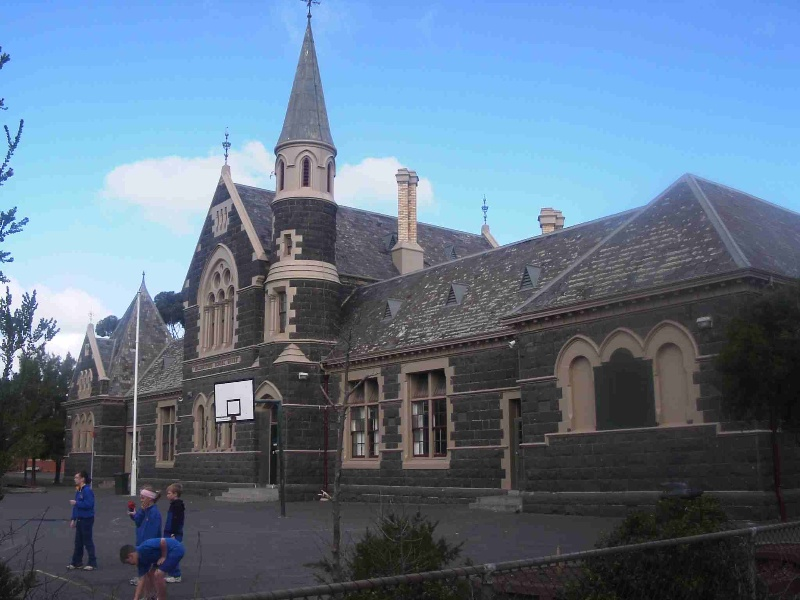 Williamstown Primary School No. 1183, Hobsons Bay Heritage Study 2006 - 1878 School