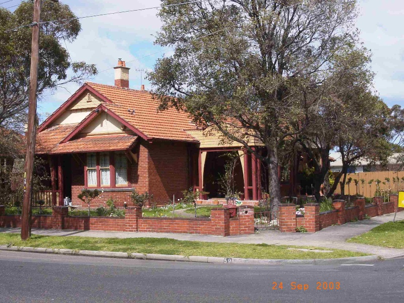 Newport Railway Workshops Manager's residence (former), Hobsons Bay Heritage Study 2006