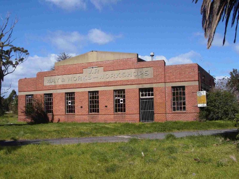 Spotswood Railway Workshops Complex (former), Hobsons Bay Heritage Study 2006