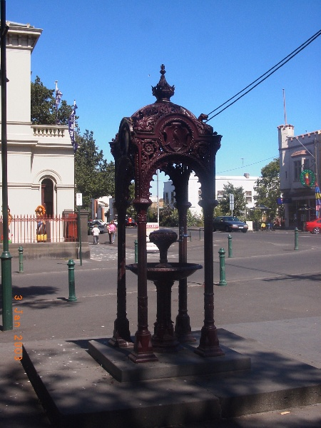 Wilkinson Memorial Drinking Fountain, Hobsons Bay Heritage Study 2006