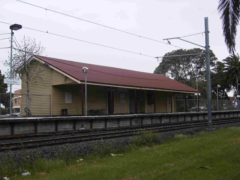 Seaholme Railway Station Complex and trees, Hobsons Bay Heritage Study 2006