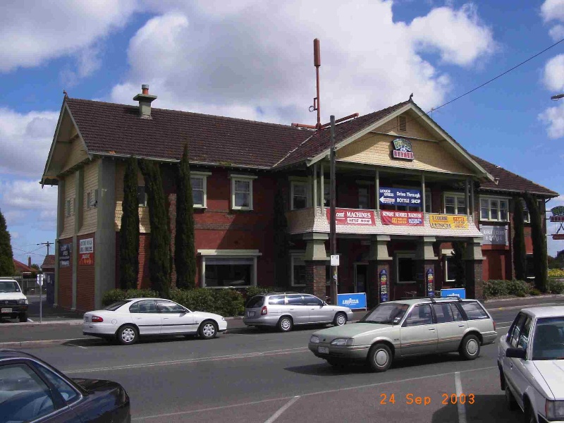 Rifle Club Hotel, Hobsons Bay Heritage Study 2006