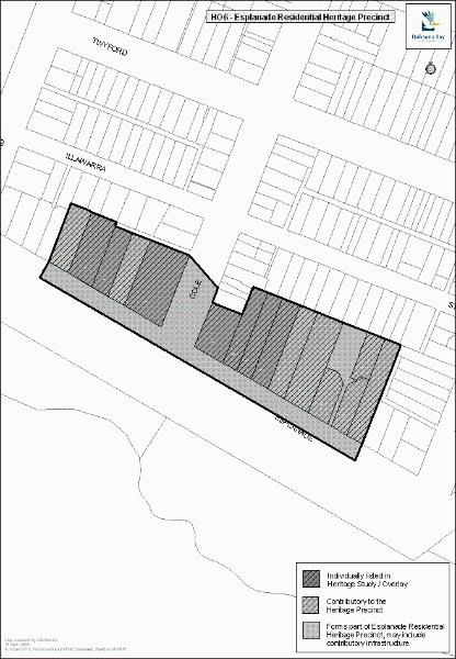 Esplanade Residential Heritage Precinct, Hobsons Bay Heritage Study 2006