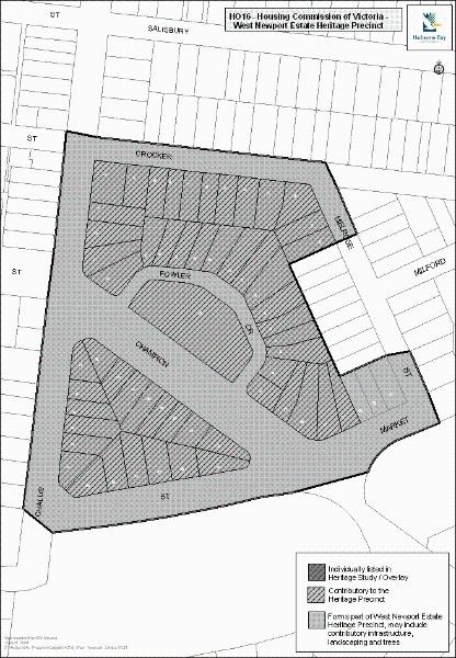 HCV West Newport Estate Precinct, Hobsons Bay Heritage Study 2006