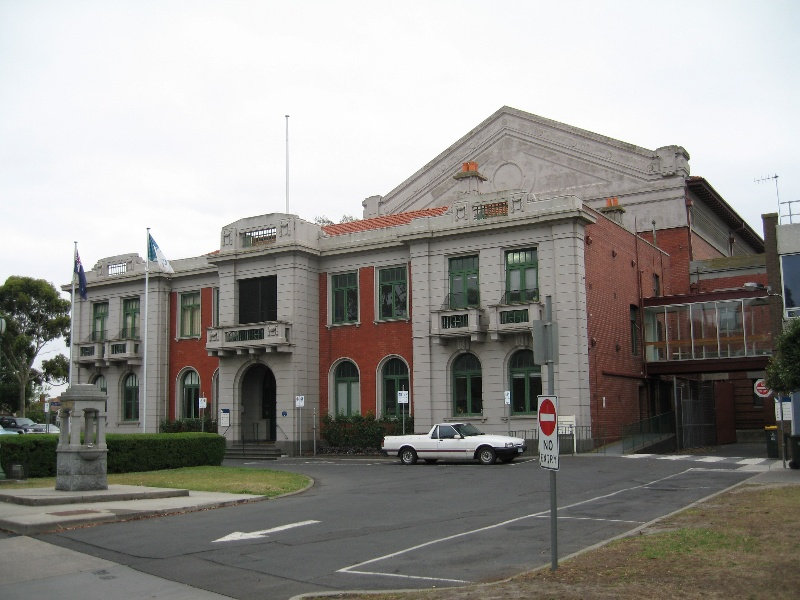 City of Williamstown Municipal Offices and Town Hall (former) and Drinking Fountain, Hobsons Bay Heritage Study 2006