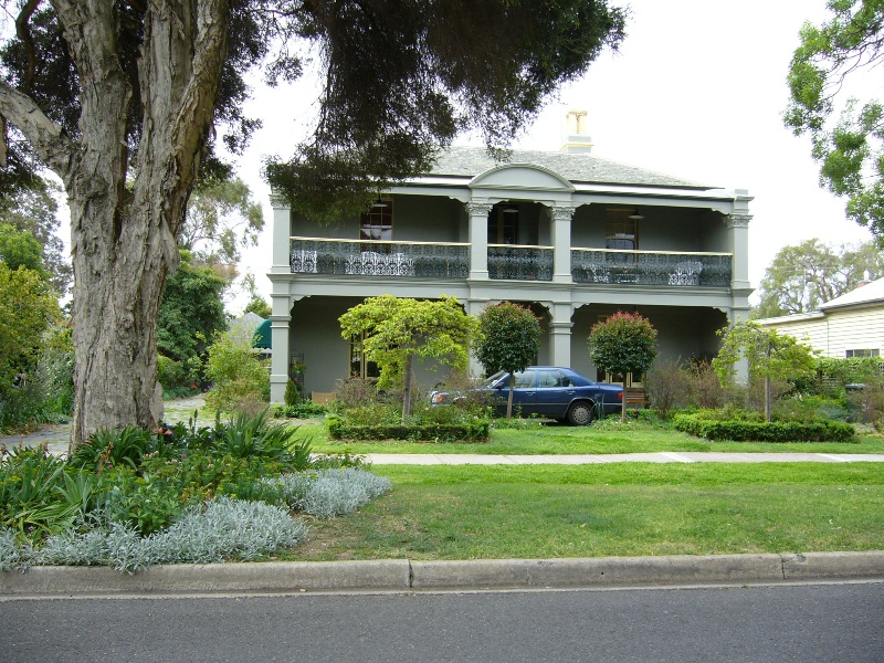 House and Pepper Trees at 54 Osborne Street, Hobsons Bay Heritage Study 2006