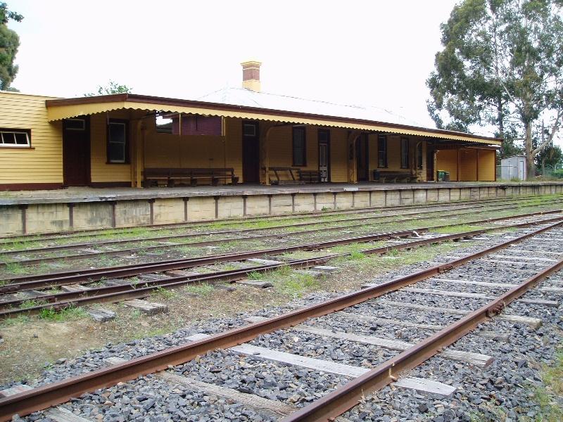 healesville railway station
