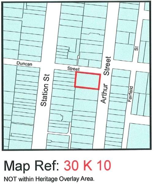 City of Darebin Heritage Review 2000 (map)