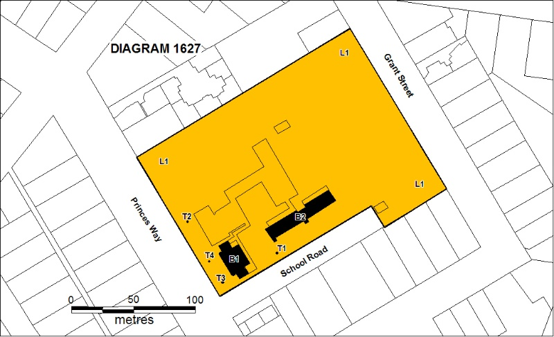 H1627 primary school number 1924 drouin plan