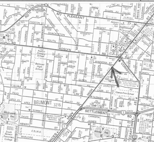 27004 High Street No 206 Map