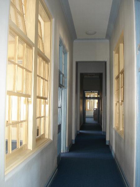 Maryborough Tech school upstairs hall KJ 26 July 07