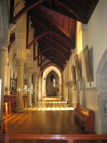 St Ignatius Church Richmond 3 May 2007 North Aisle