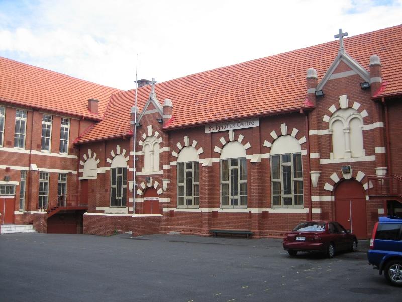 St Ignatius Church Richmond 3 May 2007 School Hall
