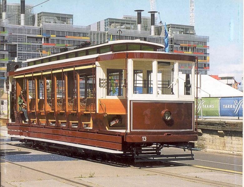 27380 Electric Tram No 13