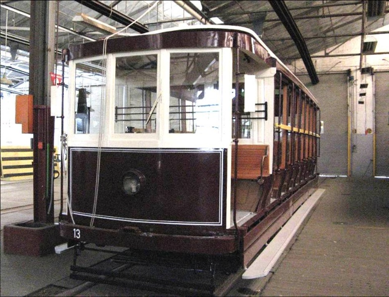 H2147 Electric tram no 13 2