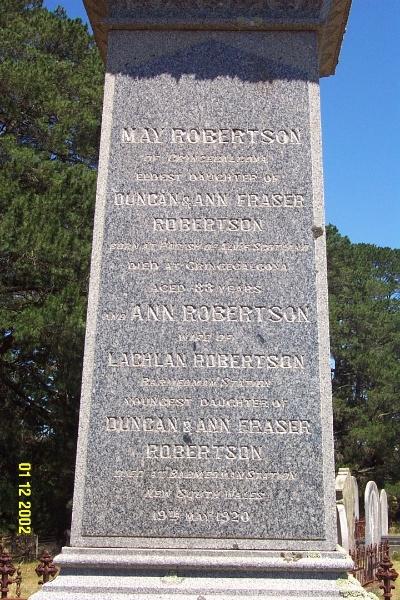 23260 Cemetery Balmoral Robertson 2108