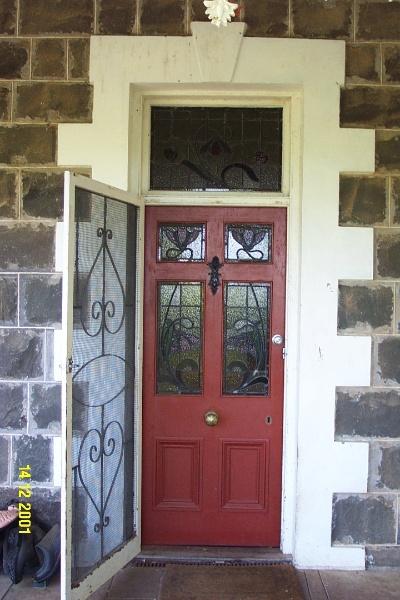 23189 Brisbane Hill front door 0302