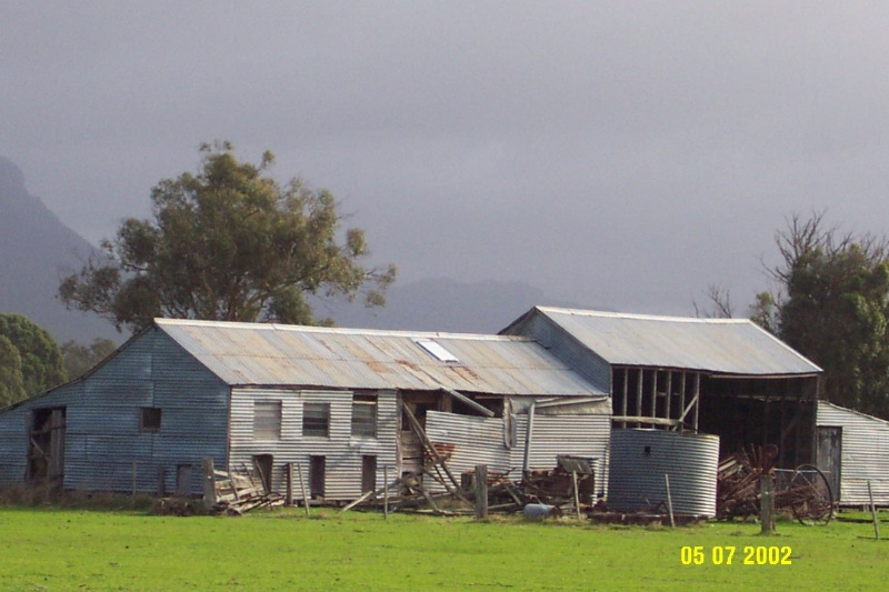 23408 Brooksdale Woolshed Victoria Valley 1119