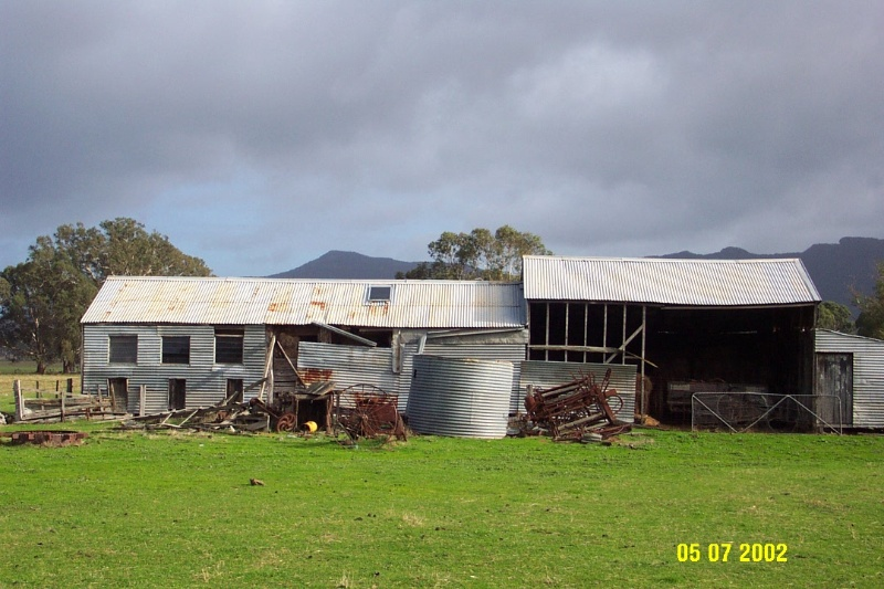 23408 Brooksdale Woolshed Victoria Valley 1120