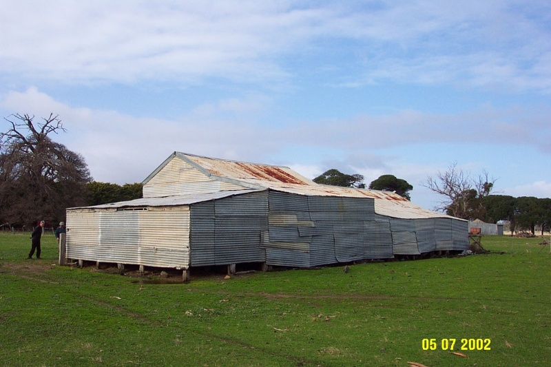 23408 Brooksdale Woolshed Victoria Valley 1121
