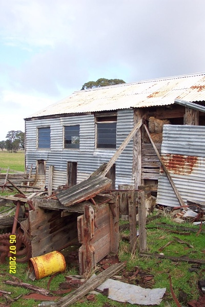 23408 Brooksdale Woolshed Victoria Valley 1122