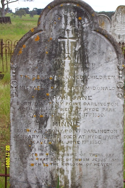 23316 Old Cavendish Cemetery 0113