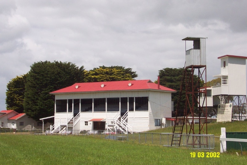 23096 Coleraine Racecourse Grandstand