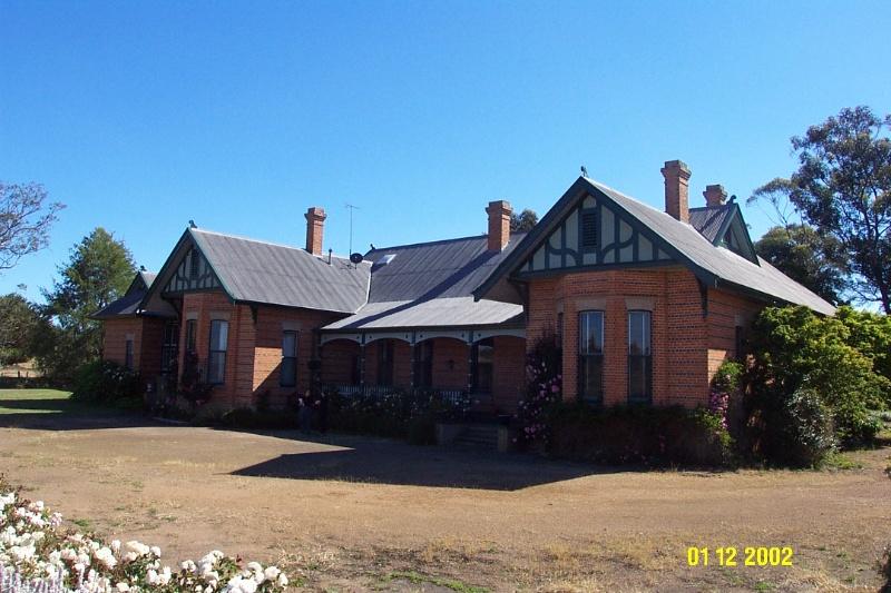 23434 Glendinning Homestead Balmoral facade 2133