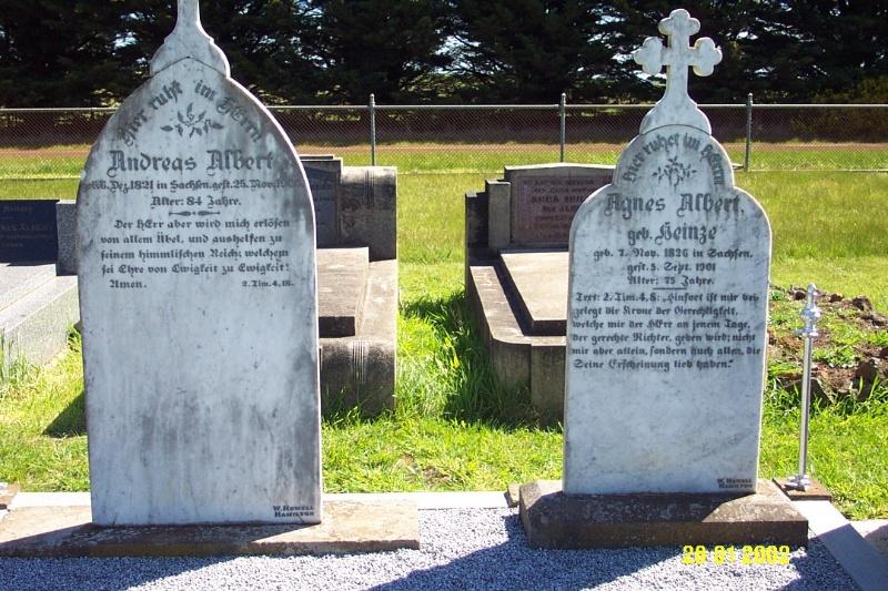 23443 Gnardenthal Cemetery Penshurst Albert Heinze 1464