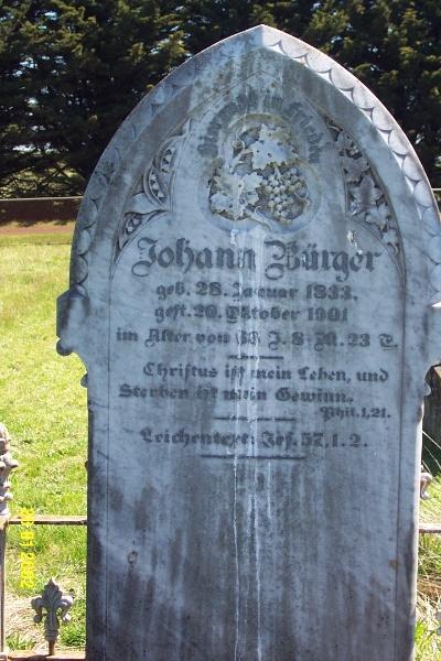 23443 Gnardenthal Cemetery Penshurst Burger 1462
