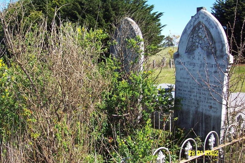 23443 Gnardenthal Cemetery Penshurst Burger Uebergang 1460