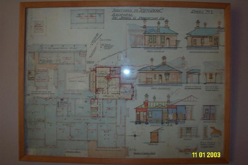 H0361 Kongbool Balmoral architect s dwgs 2373