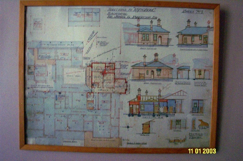 H0361 Kongbool Balmoral architect s dwgs 2372