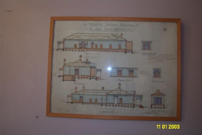 H0361 Kongbool Balmoral architect s dwgs 2375