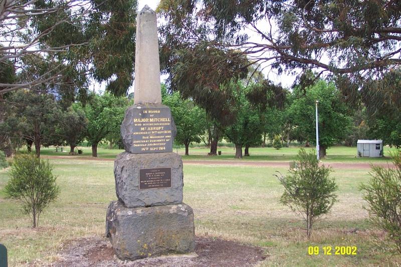 23178 Major Mitchell Monument Dunkeld 2287