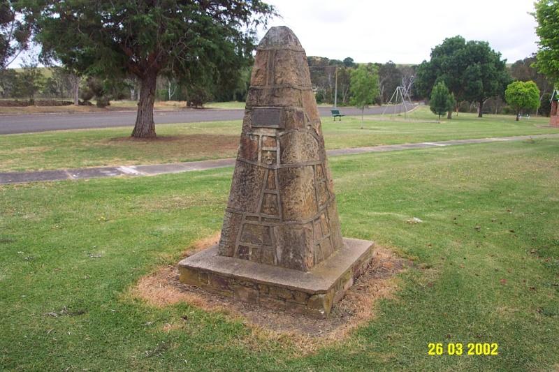 23180 Major Mitchell memorial Queens Park Coleraine 2043
