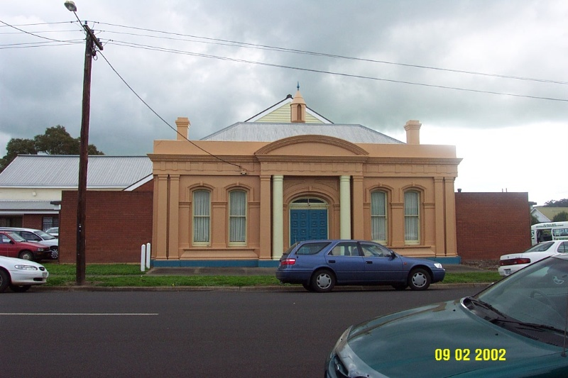 23052 Mechanics Institute Winter Pilleau St Coleraine 1492
