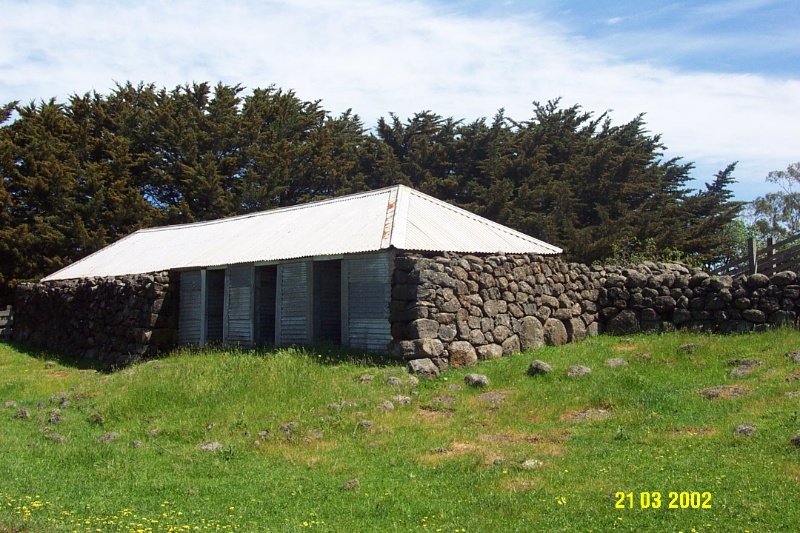 23644 Mirtschin Homestead complex cowshed 1855