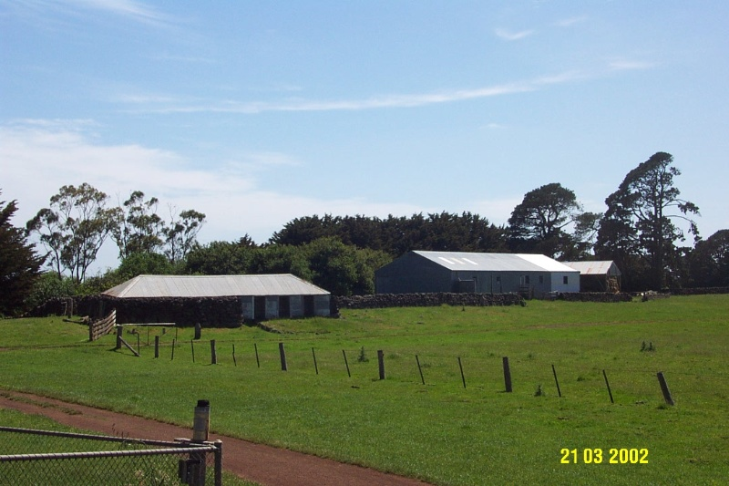 23644 Mirtschin Homestead complex cowshed woolshed 1850