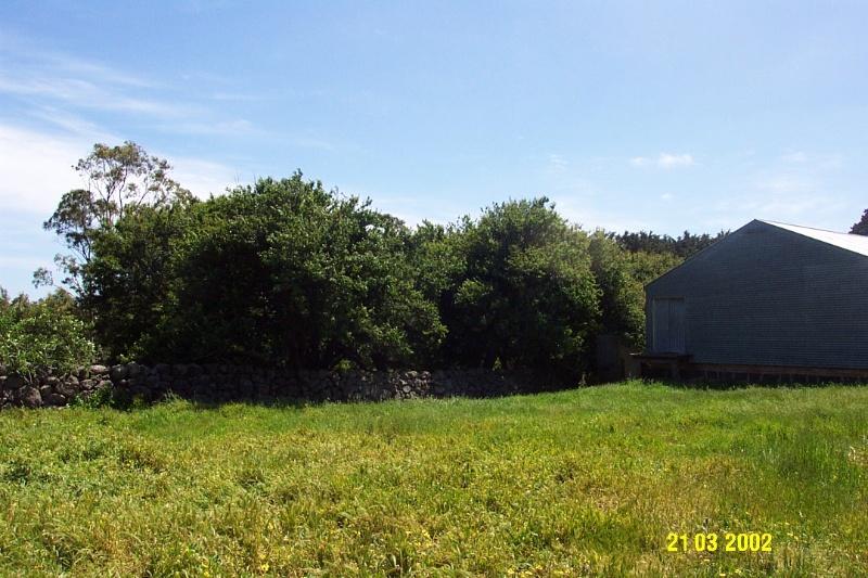 23644 Mirtschin Homestead complex old garden 1857