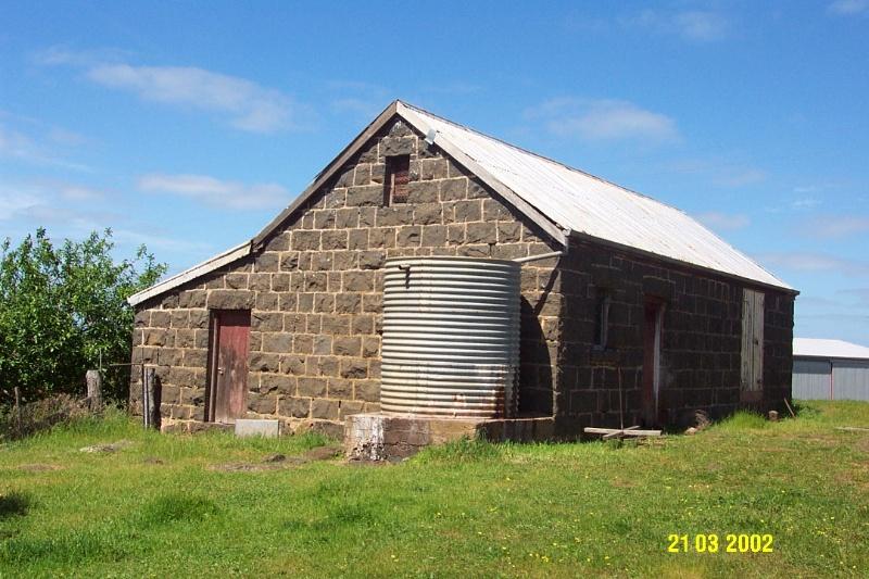 23644 Mirtschin Homestead complex stable 1851