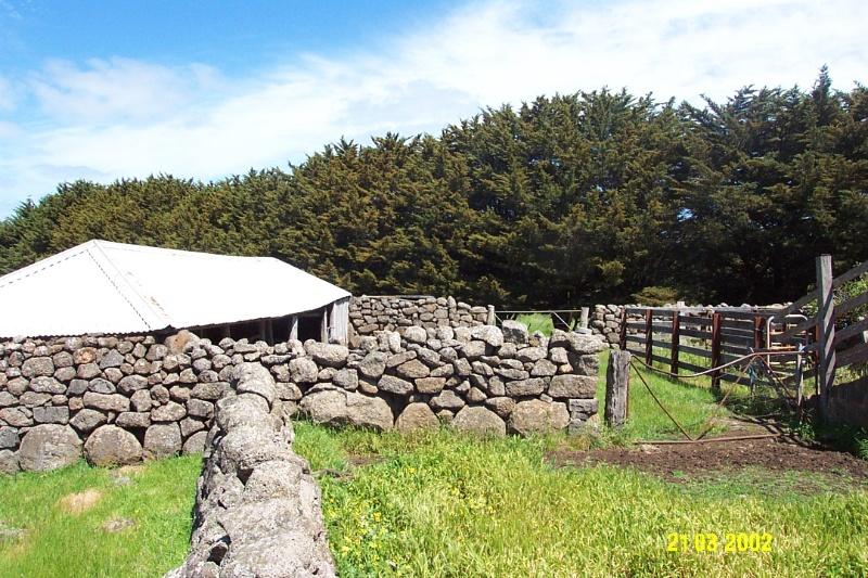 23644 Mirtschin Homestead complex cow yards 1858