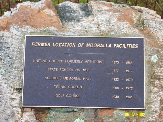 23417 Copy of 2395 Memorial Plaque Mooralla