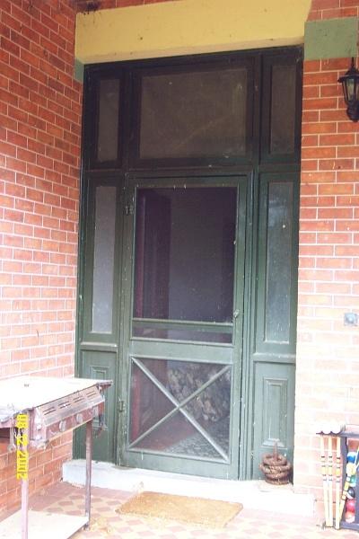 23129 Mount Napier Homestead Gazette front door 2221