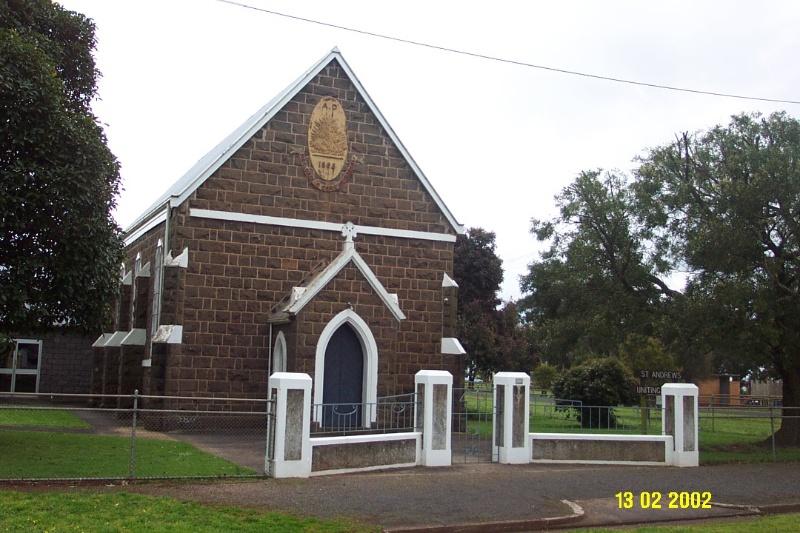 23176 St Andrew s Uniting Church 5 Martin St Penshurst 1535