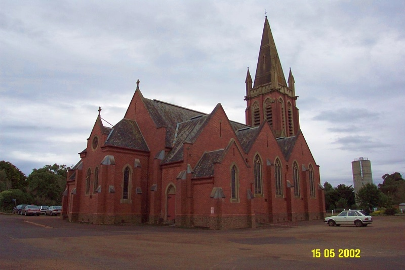 23498 St Michael s Lutheran Complex Tarrington church 0947